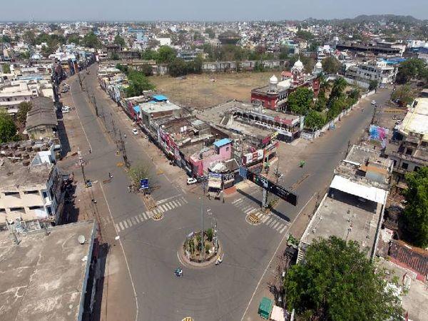शहर में कोरोना को लेकर अब और सख्ती होगी। - Dainik Bhaskar
