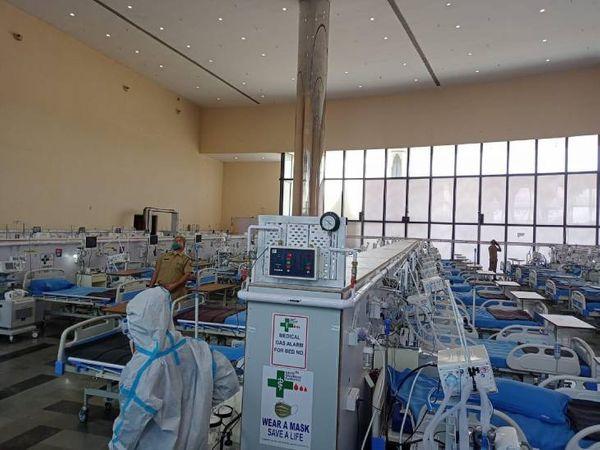 डीआरडीओ के इस अस्पताल में आज से मरीजों को भर्ती किया जाएगा।