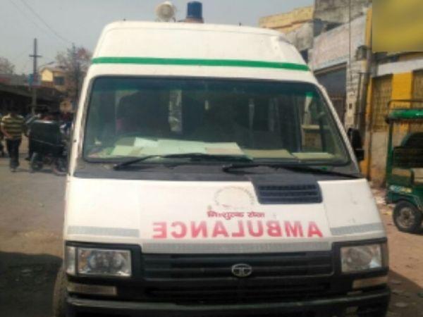 डेडबॉडी अस्पतालों से शमशान तक ले जाने के लिए भी प्राइवेट वाहनों का सहारा लेना पड़ा। - Dainik Bhaskar