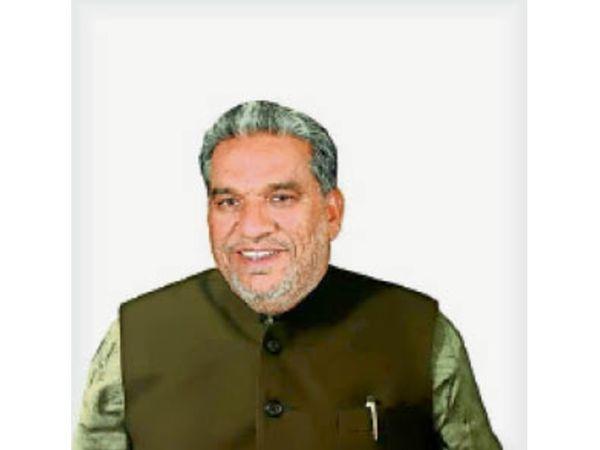 पूर्व मंत्री कृष्णलाल पंवार - Dainik Bhaskar