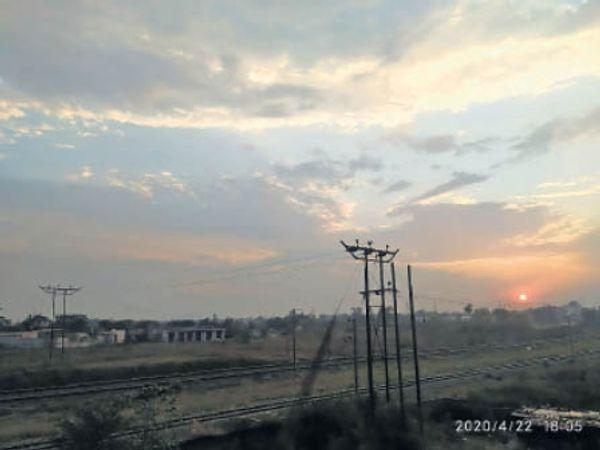 दिन के तापमान में 6 से 7 डिग्री तक गिरावट आ सकती है। - Dainik Bhaskar