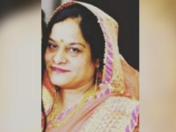 विजया जोशी का मंगलवार को कोरोना से निधन हो गया। - Dainik Bhaskar