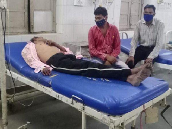 पुलिस ने गंभीर खेमचंद और कैलाश को CIMS में भर्ती कराया।  कैलाश की हालत गंभीर होने के कारण उसे अपोलो अस्पताल रेफर कर दिया गया है।