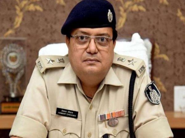 दमोह पुलिस अधीक्षक हेमंत चौहान। - Dainik Bhaskar