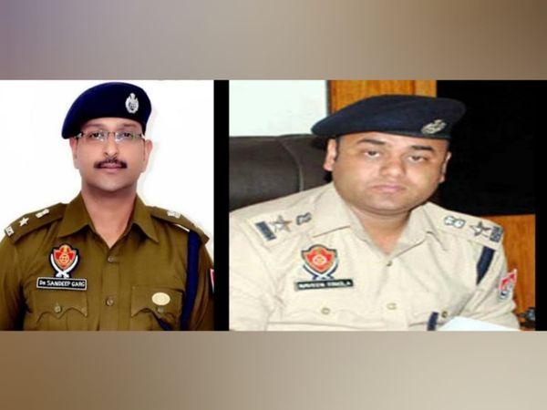 डॉ. संदीप गर्ग व नवीन सिंगला। - Dainik Bhaskar
