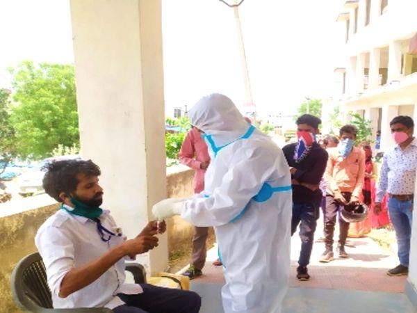 राजस्थान में संक्रमित मरीजों की संख्या 7 लाख को कर गई है पार। - Dainik Bhaskar