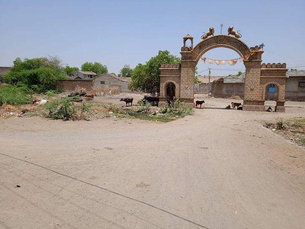 भावनगनर जिले के योगठ गांव की फाइल फोटो। - Dainik Bhaskar