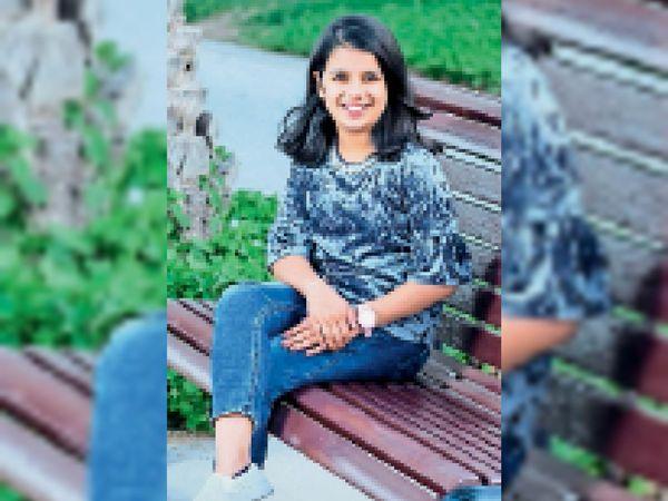 विश्व रिकॉर्ड बनाने वाली दुबई प्रवासी छात्रा सारा छीपा। - Dainik Bhaskar