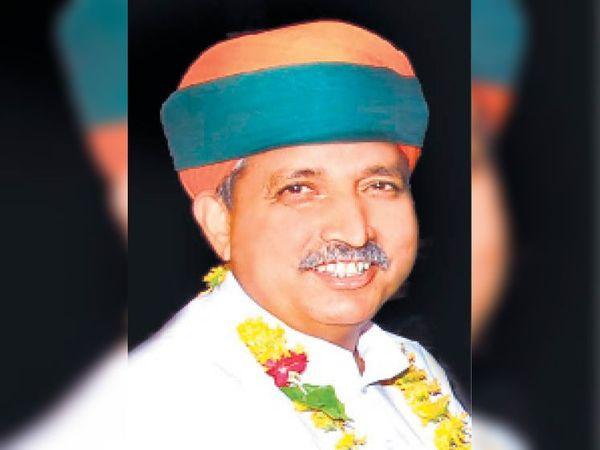 केन्द्रीय संसदीय कार्य मंत्री अर्जुनराम मेघवाल। - Dainik Bhaskar