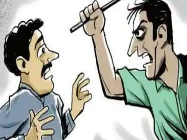 आरोपी पवन ने प्रेम को इतना पीटा की अलगे दिन उसे उल्टी हुई और वह बेहोश हो गया। - Dainik Bhaskar