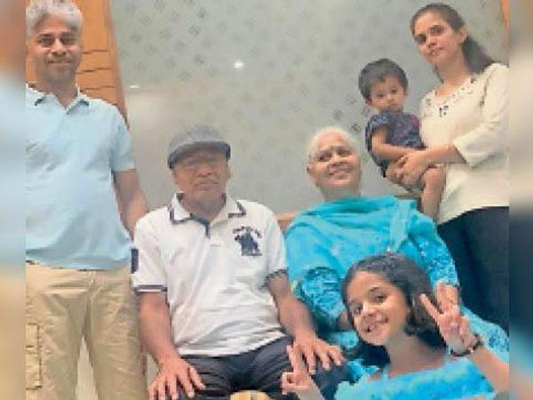 पानीपत. गोविल यादव व उनका परिवार। - Dainik Bhaskar