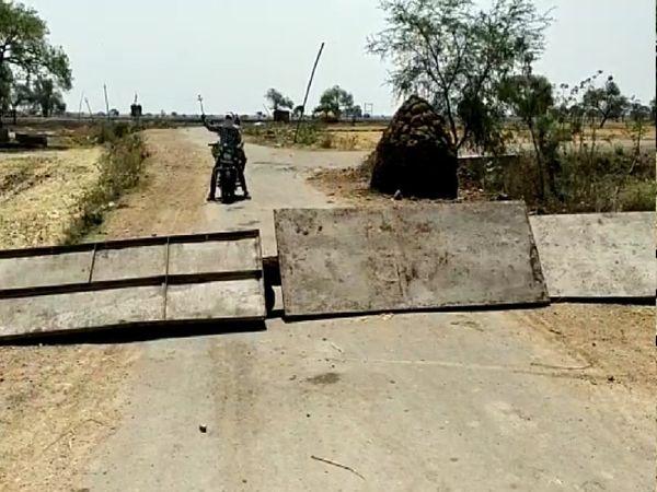 ईटमा गांव की सीमाएं सील कर दी गई हैं।