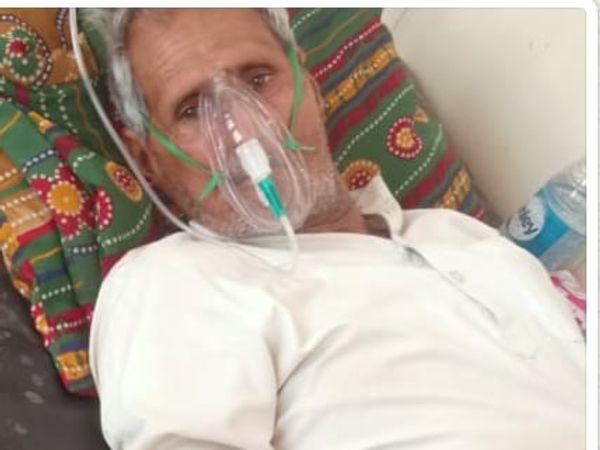 मरीज गब्बर मावई की जान नेकी की दीवार के सदस्य की वजह से बच सकी। - Dainik Bhaskar