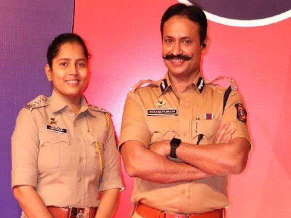 पुलिस कमिश्नर के साथ उनकी पत्नी के किरदार में एसीपी प्रेरणा कट्टे थीं।
