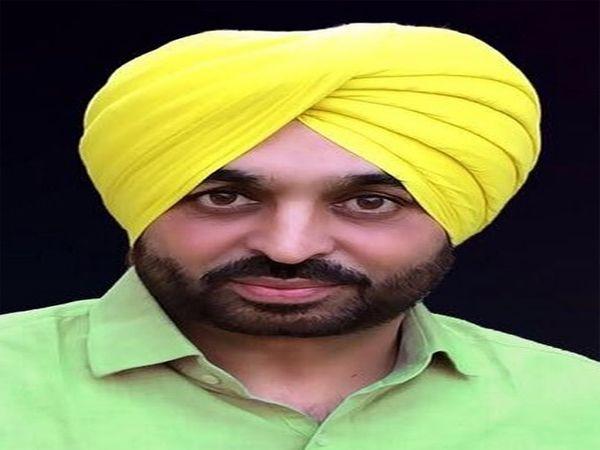 AAP सांसद भगवंत मान ने केंद्र सर� - Dainik Bhaskar