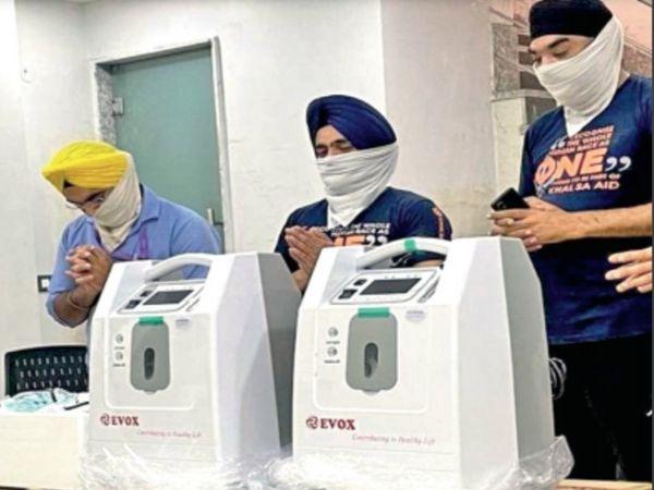 अमेरिका-ऑस्ट्रेलिया में रह रहे भारतीय अपने परिजन व देश के लोगों को ऑक्सीजन कन्सन्ट्रेटर भेज रहे हैं। - Dainik Bhaskar