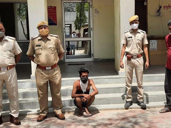 फरार आरोपी कुलदीप सिंह को पाली से किया गया अरेस्ट। - Dainik Bhaskar