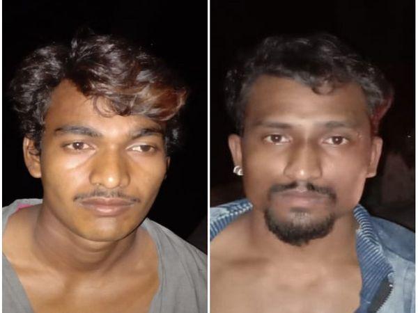 जेल से भागे दौलत और करण लहरे को गुरुवार रात में ही पुलिस ने पकड़ लिया था।