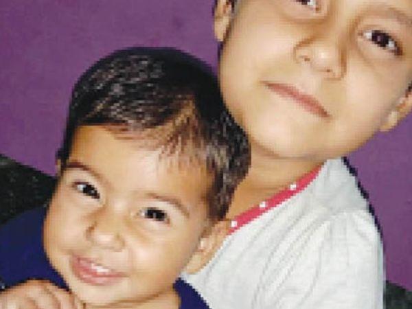 समीक्षा (6 वर्षीय) सोनाक्षी (1 वर्ष) - Dainik Bhaskar