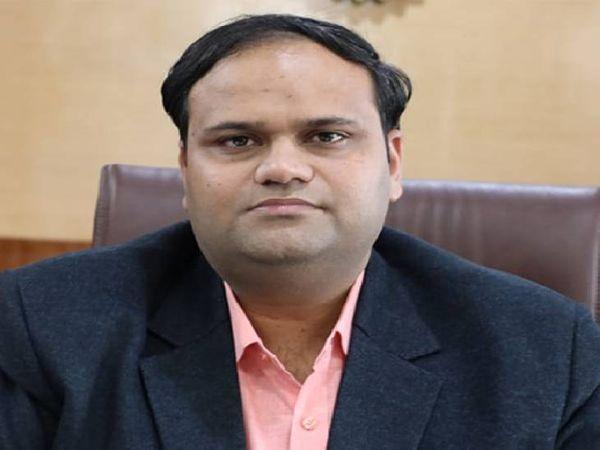 कलेक्टर कर्मवीर शर्मा - Dainik Bhaskar