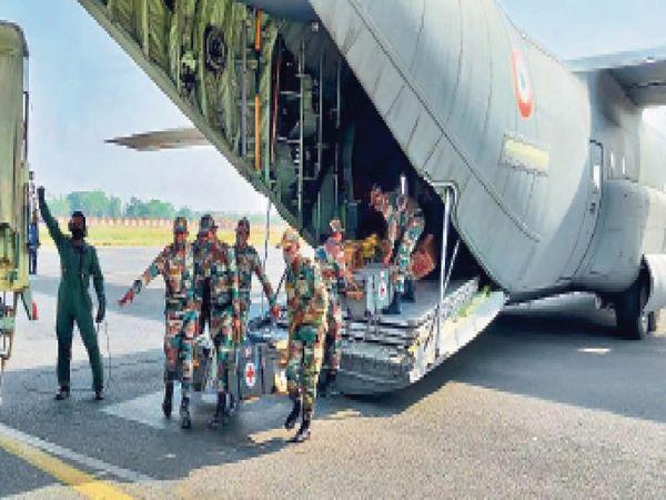 सेना ने संभाली अस्पताल की कमान - Dainik Bhaskar