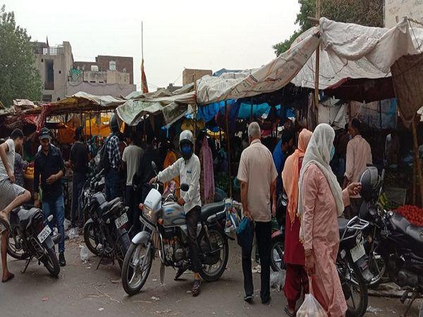सनौली रोड सब्जी मंडी में खरीदा - Dainik Bhaskar