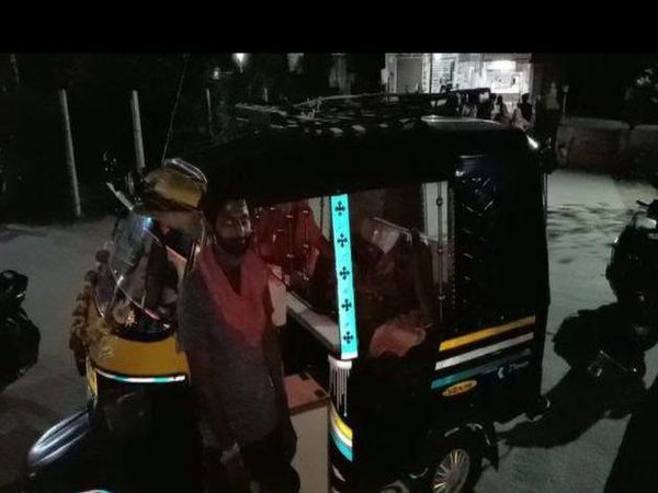 पाली। मारवाड़ जंक्शन अस्पताल के बाद टैक्स में गर्भवती महिला। - Dainik Bhaskar