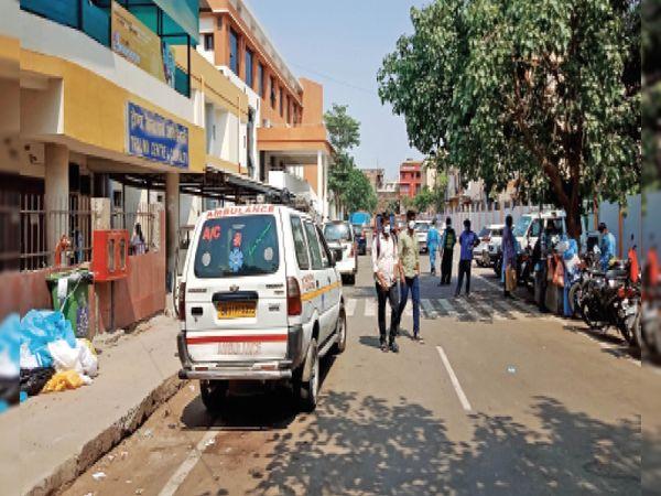 सुखद- पांच अस्पतालों में 100 भर्ती, 94 डिस्चार्ज - Dainik Bhaskar