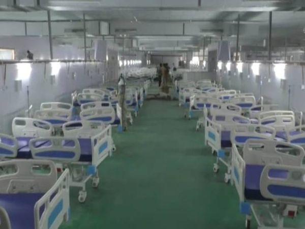 कोविड अस्पताल। प्रतिकात्मक फ� - Dainik Bhaskar