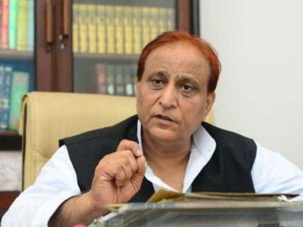 रविवार को ही आजम खान को सीतापुर जेल से लखनऊ के मेदांता अस्पताल में भर्ती कराया गया था। (फाइल फोटो) - Dainik Bhaskar