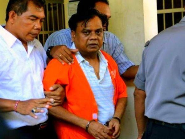 फोटो 2015 की है, जब इंडोनेशिया में छोटा राजन को गिरफ्तार किया गया था। - Dainik Bhaskar