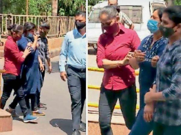 सब इंस्पेक्टर, कांस्टेबल और दो युवतियों की गैंग सोशल मीडिया पर शिकार खोजती थी। - Dainik Bhaskar
