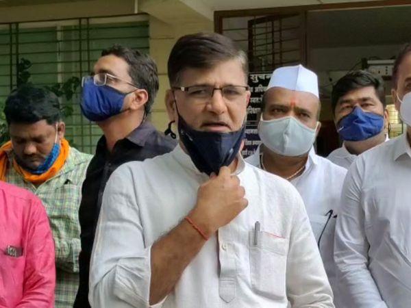 MLA मेटे ने यह भी कहा कि वह 18 मई को राज्य भर के तहसीलदारों को बयान देंगे और 5 जून को अगर लॉकडाउन भी रहा उसके बाद भी प्रोटेस्ट करेंगे। - Dainik Bhaskar
