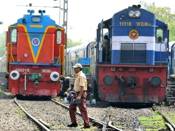 फाइल फोटो- ताऊ ते तूफान के कारण मध्य प्रदेश से गुजरात आने-जाने वाले रेलगाड़ियां निरस्त - Dainik Bhaskar