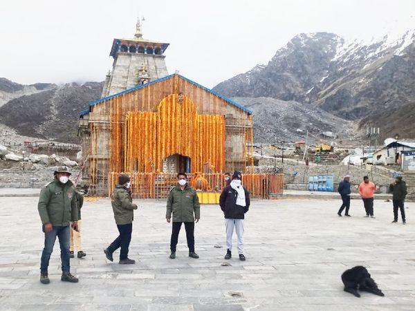 Kedarnath Temple Opening Uttarakhand Chardham Yatra Corona Effect | मंदिर को 11 क्विंटल फूलों से सजाया, कोरोना के कारण भक्तों की एंट्री बंद; सिर्फ ऑनलाइन दर्शन होंगे - Dainik ...