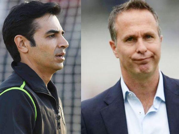 पाकिस्तान के पूर्व कप्तान सलमान बट और इंग्लैंड के पूर्व कप्तान माइकल वॉन  के बीच सोशल मीडिया पर शुरू हुई जुबानी जंग थमने का नाम नहीं ले रही है। - Dainik Bhaskar