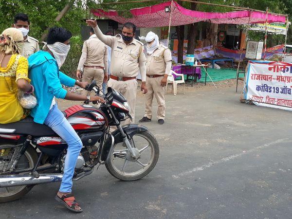 20 दिन से मध्यप्रदेश के किसी भी मरीज की राजस्थान में एंट्री बंद है।