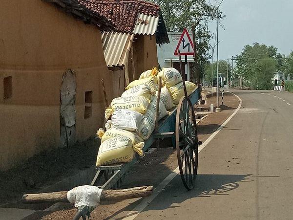 संक्रमण का संक्रमण गांव की दहलीज तक पहुंचना है।