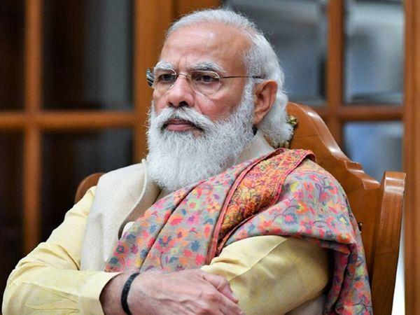 प्रधानमंत्री नरेंद्र मोदी अहमदाबाद में राज्य के मुख्यमंत्री विजय रूपाणी और अन्य अधिकारियों के साथ रिव्यू मीटिंग करेंगे। - Dainik Bhaskar
