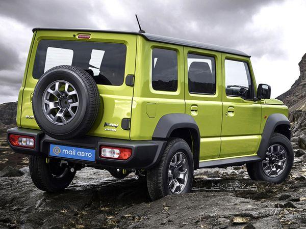 suzuki jimny turbo 5 door to debut next year 1621420326