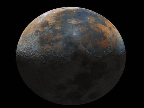 प्रथमेश द्वारा शूट की गई चांद की भव्य तस्वीर।.