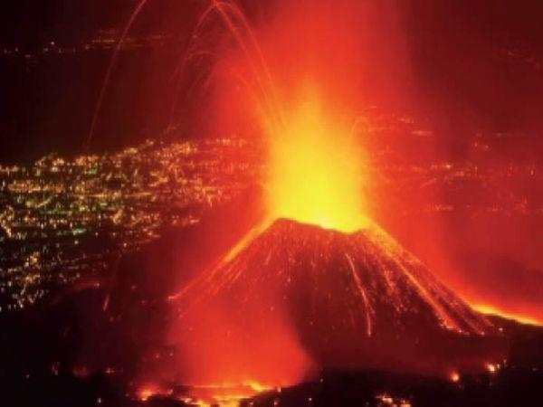 दुनिया के सबसे खतरनाक ज्वालामुखियों में से एक है नीरागोंगो। इसने 1977 में भी तबाही मचाई थी।