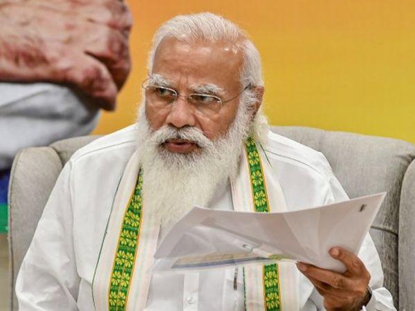 बैठक में कोरोना के चलते बनी भाजपा की छवि पर गंभीर चिंता जाहिर की गई। (फाइल फोटो) - Dainik Bhaskar