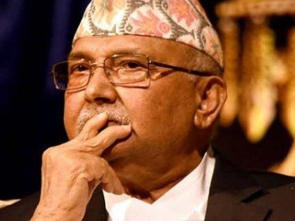 नेपाल के प्रधानमंत्री के.पी ओली - Dainik Bhaskar