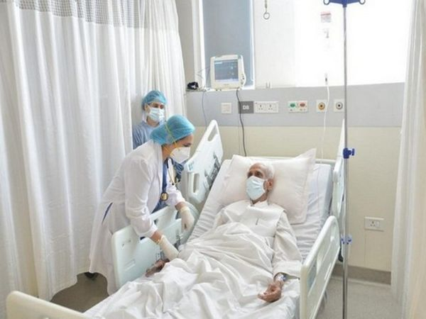 मरीज का पिछले 5 दिन से हरियाणा के गुड़गांव के मेदांता अस्पताल में इलाज चल रहा था। - Dainik Bhaskar