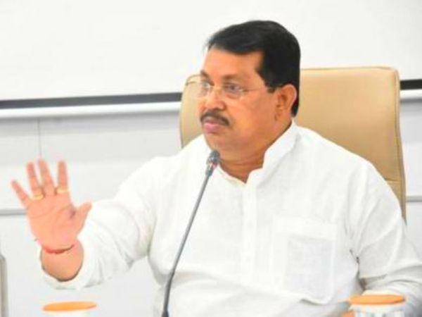 महाराष्ट्र सरकार में राहत व पुनर्वसन मंत्री वडेट्टीवार चंद्रपुर जिले के प्रभारी मंत्री भी हैं। - Dainik Bhaskar