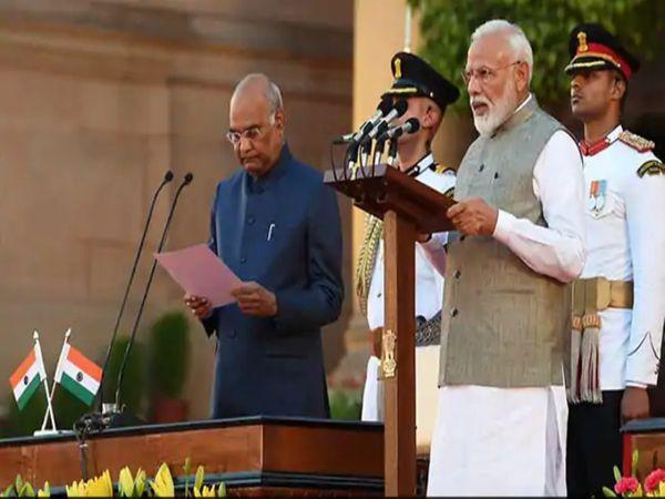 प्रधानमंत्री नरेंद्र मोदी ने 2019 में आज ही के दिन दूसरी बार प्रधानमंत्री पद की शपथ ली थी।