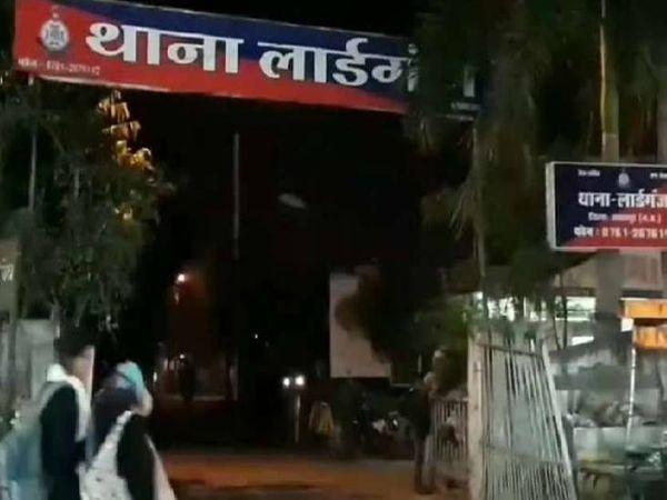 लार्डगंज पुलिस ने अपचारी सहित तीन आरोपियों को दबोचा। - Dainik Bhaskar