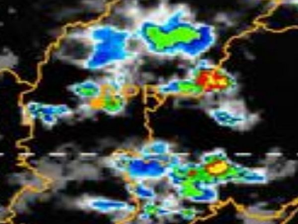 छत्तीसगढ़ के इन्हीं क्षेत्रों में अंधड़ चलने और बिजली गिरने की संभावना जताई जा रही है। - Dainik Bhaskar