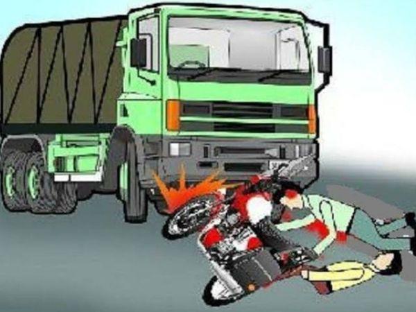 सूचना मिलते ही पुलिस मौके पर पहुंची और घायलों को उपचार के लिए भेजवाया। - Dainik Bhaskar